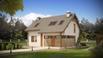 Z225 - Kompaktiškas namas su mansarda ir praktišku interjeru
