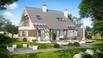 Z231 - Wygodny dom z poddaszem(do 140m2), funkcjonalny, ekonomiczny w budowie i utrzymaniu