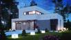 Zx46 - Komfortiškas dviaukštis modernus namas su garažu