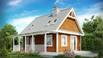 Z39 - Mažas ir jaukus namas su palėpe ir veranda