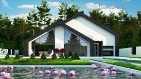 Zx250 - Z myślą o przyszłości... Dom z antresolą i dużą, wydzieloną główną sypialnią