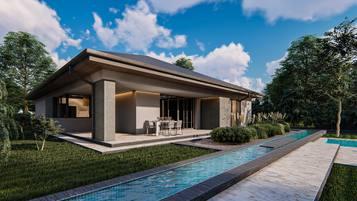 Z412 to propozycja parterowego domu o powierzchni ok 150m2