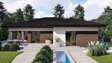 Z423 - nasza nowa propozycja klasycznego domu parterowego.